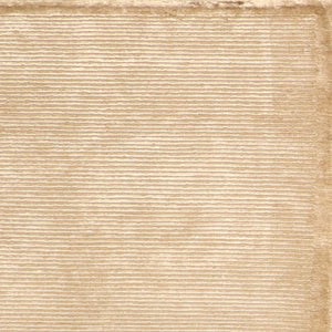"4'1""x6'2"" Decorative Ivory Wool Hand-Knotted Rug - Direct Rug Import 