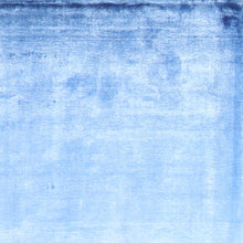 "Load image into Gallery viewer, 5'4""x7'9"" Contemporary Blue Silk Hand-Knotted Rug"