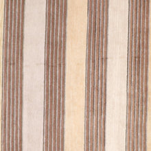Load image into Gallery viewer, 8'x10' Modern  Stripes Beige Tibet Wool Hand-Knotted Rug