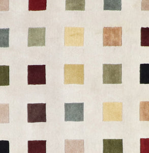 8'x10' Contemporary Multi Colors Square Wool Hand-Knotted Rug - Direct Rug Import | Rugs in Chicago, Indiana,South Bend,Granger
