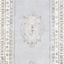 "Load image into Gallery viewer, 2'9""x12' Decorative Vintage Wool & Silk Hand-Tufted Rug - Direct Rug Import 