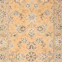 "Load image into Gallery viewer, 2'8""x11'7"" Decorative Tabriz Wool & Silk Hand-Tufted Rug - Direct Rug Import 