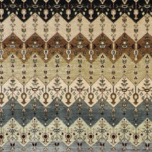 "Load image into Gallery viewer, 6'1""x8'9"" Contemporary Multi-Colored Gabbeh Wool Hand-Knotted Rug - Direct Rug Import 
