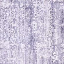 "Load image into Gallery viewer, 8'11'x12'1"" Contmeporary Purple Silk Hand-Knotted Rug"