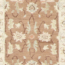 "Load image into Gallery viewer, 2'3""x7'4"" Decorative Brown Hook Wool Hand-Tufted Rug - Direct Rug Import 