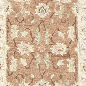 "2'3""x7'4"" Decorative Brown Hook Wool Hand-Tufted Rug - Direct Rug Import 