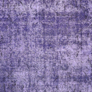 "9'7""x12'1"" Transitional Purple Wool Hand-Knotted Rug - Direct Rug Import 