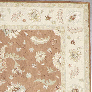 "8'x11'1"" Traditional Hook Wool Hand-Tufted Rug - Direct Rug Import 
