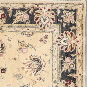 "5'8""x8'10"" Traditional Kashan Wool Hand-Tufted Rug - Direct Rug Import 