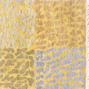 "7'10""x10'1"" Modern Wool Hand-Knotted Rug - Direct Rug Import 