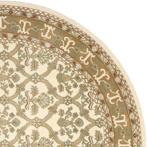 "8'1""x8'1"" Decorative Round Wool Hand-Tufted Rug - Direct Rug Import 