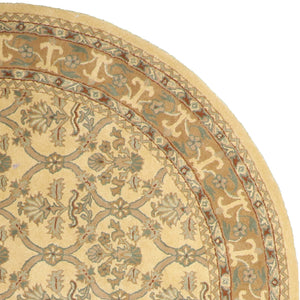 8'x8' Decorative Round Wool Hand-Tufted Rug - Direct Rug Import | Rugs in Chicago, Indiana,South Bend,Granger