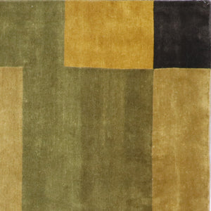 "8'x9'11"" Modern Nepal Wool Hand-Knotted Rug - Direct Rug Import 