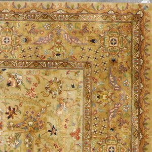 "7'10""x9'8"" Traditional Wool Hand-Knotted Rug - Direct Rug Import 