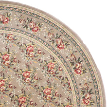 "Load image into Gallery viewer, 9'11""x9'11"" Decorative Round Wool & Silk Hand-Tufted Rug - Direct Rug Import 