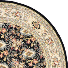 Load image into Gallery viewer, 8'x8' Decorative Round Wool & Silk Rug Hand-Tufted - Direct Rug Import | Rugs in Chicago, Indiana,South Bend,Granger