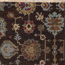 "Load image into Gallery viewer, 5'11""x8'11""   Casual Flat weave Brown Wool Hand-Knotted Rug - Direct Rug Import 