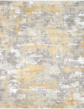 "Load image into Gallery viewer, 7'8""x9'10"" Contemporary Wool & Silk Hand-Finished Rug"