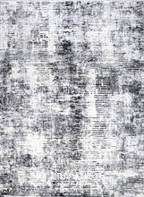 "Load image into Gallery viewer, 9'8""x13'4"" Contemporary Black Wool & Silk Hand-Finished Rug - Direct Rug Import 