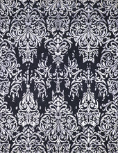 "Load image into Gallery viewer, 7'10""x10'3"" Transitional Black Wool & Silk Hand-Knotted Rug - Direct Rug Import 