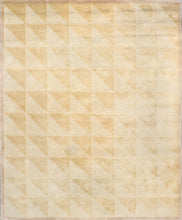 Load image into Gallery viewer, 8'x10' Decorative Tan 7 Gold Wool Hand-Knotted Rug - Direct Rug Import | Rugs in Chicago, Indiana,South Bend,Granger