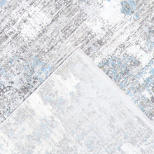 "Load image into Gallery viewer, 7'9""x11' Transitional Gray Wool & Silk Hand-Finished Rug - Direct Rug Import 