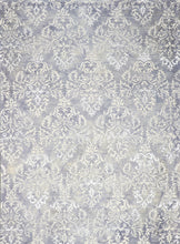"Load image into Gallery viewer, 8'1""x11'1"" Transitional Gray Wool & Silk Hand-Tufted Rug - Direct Rug Import 