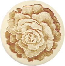 "Load image into Gallery viewer, 6'8""x6'8"" Decorative Ivory & Tan Wool Hand-Finished Round Rug - Direct Rug Import 