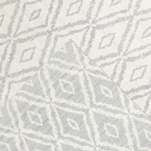 "8'11""x11'10"" Decorative Ivory & Gray Flat-Weave Wool Hand-Knotted Rug - Direct Rug Import 