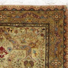 "Load image into Gallery viewer, 2'7""x10' Persian Traditional Light Blue Wool Hand-Knotted Rug"
