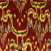 Load image into Gallery viewer, 8'x10' Decorative Red Wool Hand-Knotted Rug