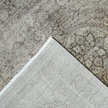 "Load image into Gallery viewer, 7'10""x10'11"" Transitional Over-dyed Gray- Charcoal Wool Hand-Knotted Rug"