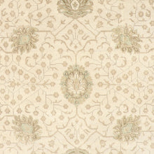 "Load image into Gallery viewer, 8'x10'1"" Decorative Ivory Oushak Wool Hand-Knotted Rug"