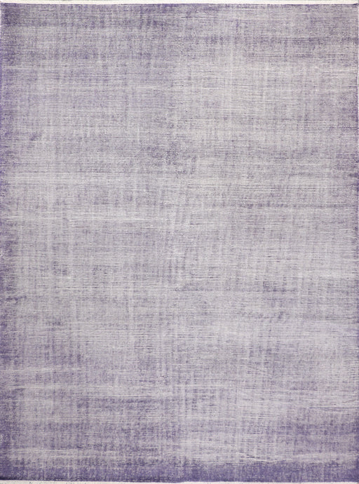 "8'8""x11'8"" Transitional Purple Wool Hand-Knotted Rug"