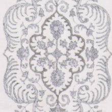 "Load image into Gallery viewer, 4'1""x6'1"" Decorative Gray Wool & Silk Hand-Knotted Rug"