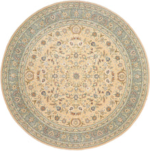 Load image into Gallery viewer, 10'x10' Decorative Round Wool & Silk Hand-Tufted Rug - Direct Rug Import | Rugs in Chicago, Indiana,South Bend,Granger