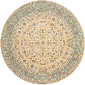 10'x10' Decorative Round Wool & Silk Hand-Tufted Rug - Direct Rug Import | Rugs in Chicago, Indiana,South Bend,Granger