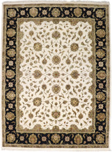 "Load image into Gallery viewer, 8'11""x12'1"" Traditional Wool & Silk Hand-Knotted Rug - Direct Rug Import 