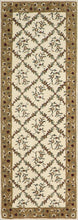"Load image into Gallery viewer, 3'x8'4"" Decorative Ivory Wool Hand-Tufted Rug - Direct Rug Import 