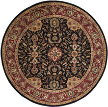 "Load image into Gallery viewer, 8'10""x8'10"" Traditional Round Wool Hand-Tufted Rug - Direct Rug Import 