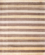 Load image into Gallery viewer, 8'x10' Contemporary Beige Wool Hand-Knotted Rug - Direct Rug Import | Rugs in Chicago, Indiana,South Bend,Granger