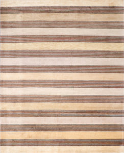 8'x10' Contemporary Beige Wool Hand-Knotted Rug - Direct Rug Import | Rugs in Chicago, Indiana,South Bend,Granger