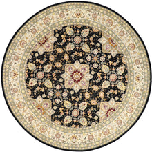 Load image into Gallery viewer, 8'x8' Traditional Round Wool & Silk Hand-Tufted Rug - Direct Rug Import | Rugs in Chicago, Indiana,South Bend,Granger