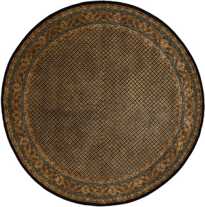 "10'1""x10'1"" Decorative Round Wool Hand-Tufted Rug - Direct Rug Import 