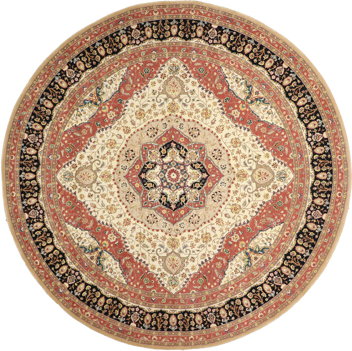 10'x10' Traditional Round Wool Rug - Direct Rug Import | Rugs in Chicago, Indiana,South Bend,Granger