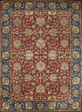 "Load image into Gallery viewer, 8'7""x11'10"" Traditional Red Wool Hand-Tufted Rug - Direct Rug Import 