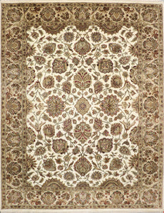 "9'3""x11'10"" Traditional Wool Rug"