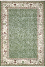 "Load image into Gallery viewer, 6'5""x9'3"" Decorative Green Wool & Silk Hand-Knotted Rug - Direct Rug Import 