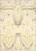 "Load image into Gallery viewer, 7'2""x10'3""Contemoprary Tan Wool Hand-Knotted Rug - Direct Rug Import 