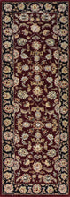 "Load image into Gallery viewer, 2'8""x8'1"" Decorative Burgundy Wool & Silk Hand-Tufted Rug - Direct Rug Import 